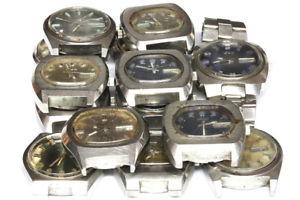 【送料無料】腕時計 ウォッチ ロットロットlot of urika automatic watches for parts lot nr 129388