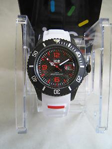 【送料無料】腕時計 ウォッチ アラームアイスカーボングランデブラックホワイトicereloj icecarbono grande ca3hwebs15 negro blanco genuino