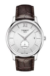 【送料無料】腕時計 ウォッチ ティソtissot tradicin automatic small second t0634281603800