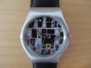 腕時計 ウォッチ グスタフクリムトgustav klimt silbermosaik reloj pulsera knstleruhr laksedition limitado