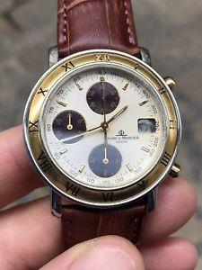 【送料無料】腕時計 ウォッチ ボーメメルシエクロノクロノグラフオロゴールドスチールbaume amp; mercier chrono chronograph transpacific oro gold steel acciaio a53067