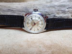 【送料無料】腕時計 ウォッチ シンパンアメリカンクロックマニュアルパイロットmuy raras dcada de 1950 gruen precisin verithin panamericana piloto reloj de viento manual