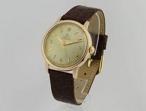 腕時計 ウォッチ ビンテージkゴールドzenith automatic vintage 18k gold 673134