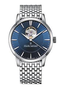 腕時計 ウォッチ クロードベルナールオープンハートclaude bernard sophisticated classics open heart automatik 85017 3m buin