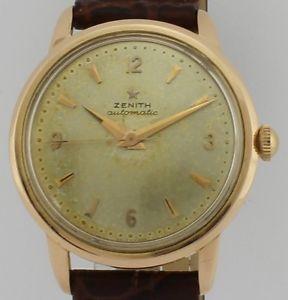 【送料無料】腕時計 ウォッチ ビンテージkゴールドzenith automatic vintage 18k gold 673134