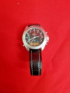 【送料無料】腕時計 ウォッチ ブライトリングガラスbreitling navitimer cuarzo 3100 funciona vidrio y luna estado ref31804