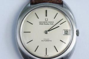 【送料無料】腕時計 ウォッチ ホワイトシャドウユニバーサルジュネーブuniversal geneve white shadow date automatik, trler, 86710201, joyero trler