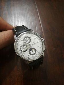 春早割 【送料無料】腕時計 ウォッチ ワイラームーンフェイズクロノグラフクロノウォッチwyler vetta beaux art moon phase automatic chronograph watch orologio chrono, 不妊健康支援センターMakana 2eb0f6b6