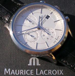 【送料無料】腕時計 ウォッチ モーリスロアレクロノグラフユーロmaurice lacroixles classiquesautomaticchronograph; ppe 2333, eur