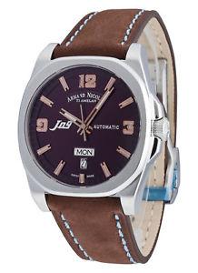日本未入荷 【送料無料】腕時計 ウォッチ armand nicolet j09 automatik day date 9650amsp865mz2, ギーク 2326dbc4