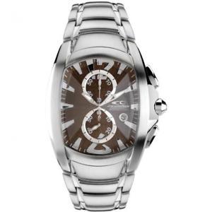 腕時計 ウォッチ リロードmmクロノorologio uomo chronotech prisma reloaded ct7024m65m chrono acciaio marrone