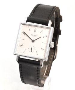 【送料無料】腕時計 ウォッチ テトラアラームnomos tetra usado reloj hombre