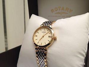 腕時計 ウォッチ スイスロータリーレディースゴールドブレスレットnuevo reloj suizo rotary damas auto ajustable pulsera oro pl watc rrp  169