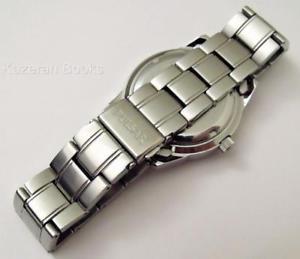 腕時計 ウォッチ reloj pulsera trabajo mans pulsar esfera azul kinetic da fecha yt58x008 y libro