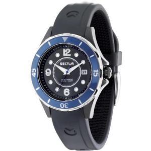 【送料無料】腕時計 ウォッチ セクタシリコーンディクリスタロサブメートルorologio sector 250 r3251161502 silicone nero ghiera di cristallo sub 100mt
