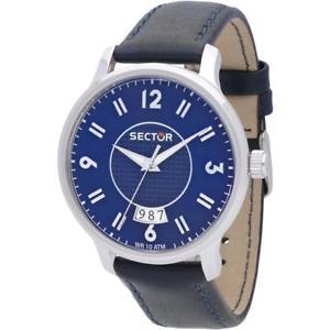 【送料無料】腕時計 ウォッチ セクタベラペレブルサブメートルorologio uomo sector 640 r3251593001 vera pelle blu sub 100mt