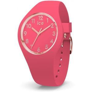 【送料無料】腕時計 ウォッチ シリコンピンクゴールドメートルウォッチorologio ice watch glam ic015331 silicone fucsia gold dorato small 34mm 100mt