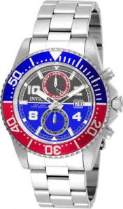 【送料無料】腕時計 ウォッチ プロダイバースイスクオーツストップウォッチスチール18517 invicta hombres pro diver cuarzo suizo cronmetro 200m reloj acero