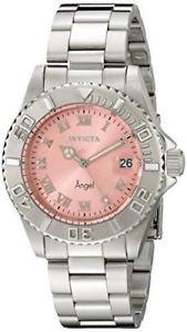 【送料無料】腕時計 ウォッチ ローザエリアアラーム14360 invicta 40mm mujer ngel cuarzo 3 mano rosa esfera reloj