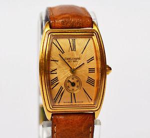 【送料無料】腕時計 ウォッチ アラームレディゴールデンステンレススチールc melchers cuarzo reloj de pulsera fantastico reloj seora acero inoxidable dorado