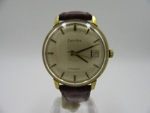 【送料無料】腕時計 ウォッチ ビンテージl113 vintage rara zentra automatic date reloj pulsera kal2452
