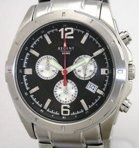 【送料無料】腕時計 ウォッチ リージェントスイスユーロステンレススチールregent swiss movt herrenchronograph pvp 148,00 eur masivamente acero inoxidable nuevo
