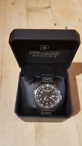 【送料無料】腕時計 ウォッチ アラームスイスhanowa reloj swiss military sm34521 para caballero