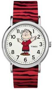 【送料無料】腕時計 ウォッチ ピーナツベルトtimex weekender cacahuetes linus correa roja tw2r412006b relojes