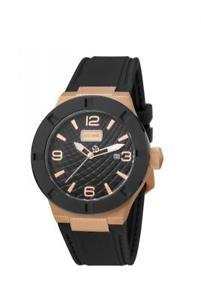 腕時計 ウォッチ キャバリブラックシリコンローズゴールド