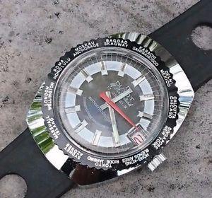 【送料無料】腕時計 ウォッチ ビンテージレディースアメリカスイスブラックワールドタイム