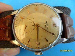【送料無料】腕時計 ウォッチ ビンテージサイズorologio vintage over size sikwator 17 rubis