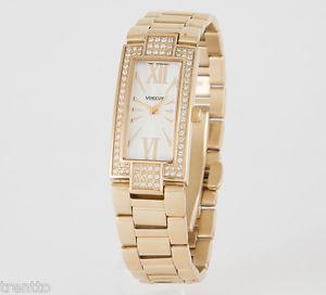【送料無料】腕時計 ウォッチ アラームスチールスチールゴールドウォッチreloj vendoux mujer acero dorado md19000 womens steel gold watch uhr 3 atm