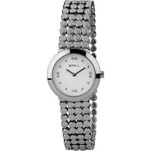 【送料無料】腕時計 ウォッチ ヌオーヴォorologio breil silk donna tw1766 watch maglia zirconi acciaio 28 mm nuovo