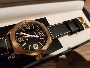 【送料無料】腕時計 ウォッチ スチールピンクゴールドマンtw steel reloj para hombre de oro rosa