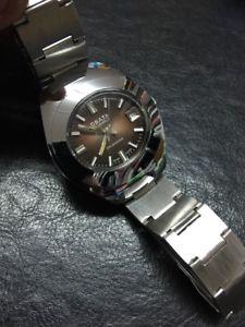 【送料無料】腕時計 ウォッチ マニュアルアラームウォッチビンテージブラウンnos osata cuerda manual date reloj watch vintage brown