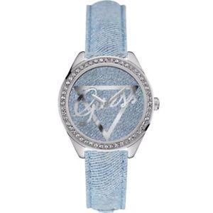 【送料無料】腕時計 ウォッチ アラームリトルリゴンジーンズブレスレットguess reloj mujer w0456l10 poco lign jeans pulsera reloj mueca nuevo