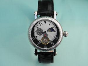 【送料無料】腕時計 ウォッチ アラームスケルトンimpresionante reloj caballeros reloj esqueleto automtico de fase lunar