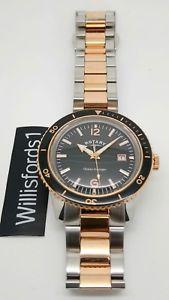 【送料無料】腕時計 ウォッチ アラームロータリーシルバーピンクゴールドpara hombres reloj rotary para caballero 2 tonos plateado y rosa dorado gb0269504 pvp 18500