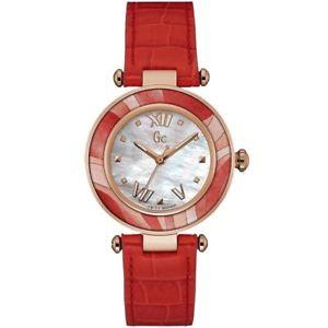 【送料無料】腕時計 ウォッチ コレクションウォッチレザーguess collection reloj mujer y12006l1 gc ladychic reloj pulsera de cuero nuevo