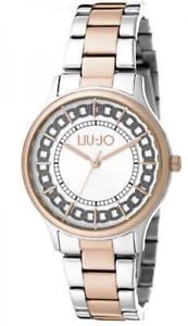 【送料無料】腕時計 ウォッチ ラグジュアリーリュジョドナシルバーorologio donna liu jo luxury aurelia tlj1132 acciaio bicolor ros silver