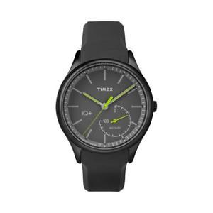 腕時計 ウォッチ メンズプラスブラックシリコンストラップムーブメントtimex para hombre iq plus tw2p95100 correa de silicona negro movimiento reloj nuevo
