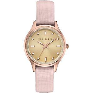 【送料無料】腕時計 ウォッチ テッドベーカーレディースアラームテted baker seoras zoe saffiano relojte10030743 nuevo