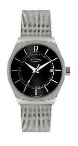 【送料無料】腕時計 ウォッチ ナイツメッシュブレスレットロータリーcaballeros pulsera de malla de reloj rotary en gb 0003319 rrp149