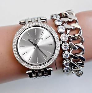 【送料無料】腕時計 ウォッチ ウォッチカラーシルバーガラスoriginal michael kors reloj mujer mk3190 darci color plata cristal nuevo