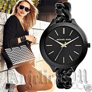 【送料無料】腕時計 ウォッチ オリジナルスリムラインカラーブラックゴールドoriginal michael kors reloj fantastico mk3317 runway slimline color negrooro nuevo