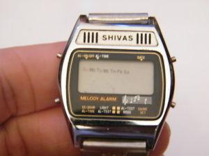 【送料無料】腕時計 ウォッチ デジタルクオーツヴィンテージmontre shivas lcd digital quartz vintage watchsans pile,nm952