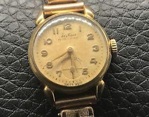【送料無料】腕時計 ウォッチ ライムビンテージハンドロープアラームjustina cal d40 22,2mm vintage hand manual cuerda reloj watch no funciona