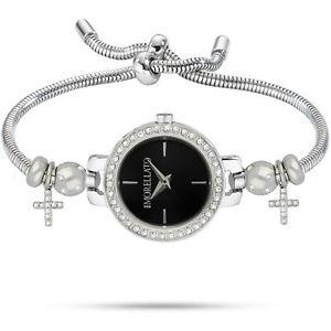 【送料無料】腕時計 ウォッチ ドナドロップネロウォッチペンダントorologio donna morellato drops orologi r0153122555 watch ciondoli nero croci