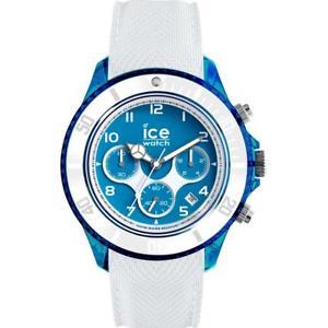 【送料無料】腕時計 ウォッチ クロノシリコンビアンコブルサブメートルウォッチorologio uomo ice watch dune ic014224 chrono silicone bianco blu xl sub 100mt