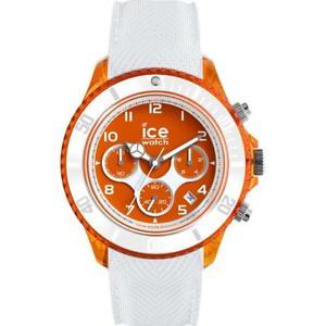 【送料無料】腕時計 ウォッチ クロックデューンクロノシリコーンホワイトオレンジメートルウォッチreloj de hombre ice watch dune ic014221 chrono silicona blanco naranja 100mt